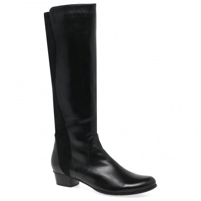 Regarde Le Ciel Stefany 274 Womens Leather Elasticated Long Boots