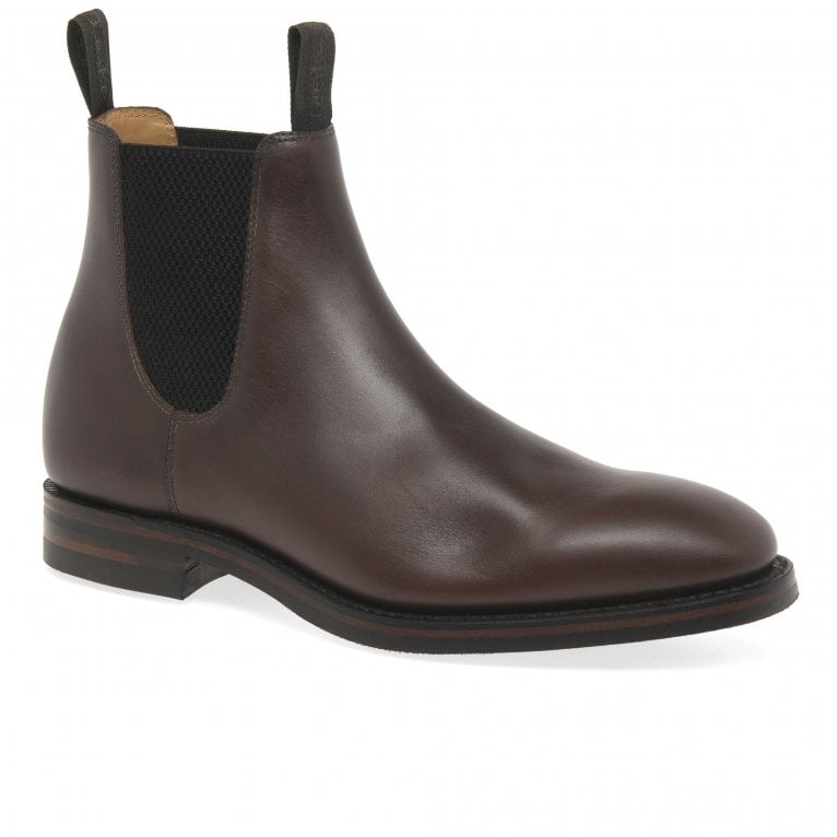 Loake Chatsworth Mens Classic Leather Chelsea Ankle Boots