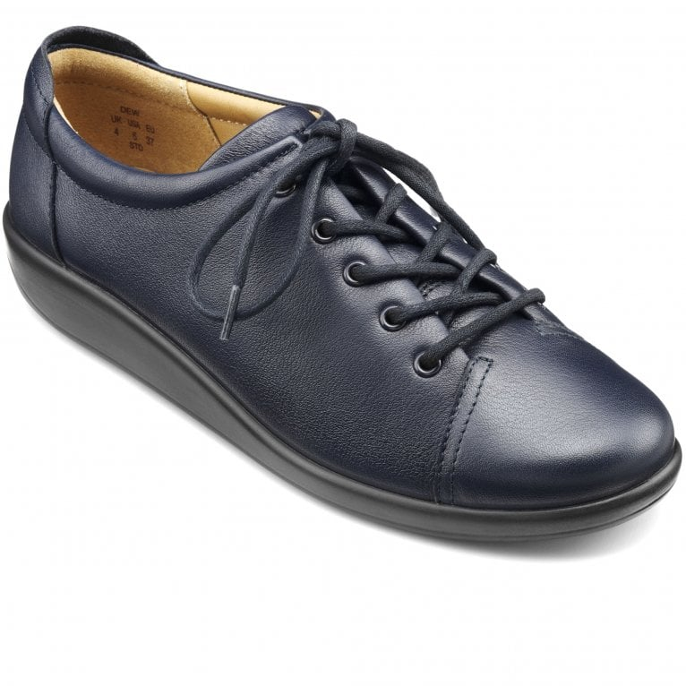Hotter Dew Womens Casual Lace-Up Shoe