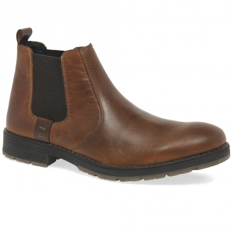 Rieker Geoff Mens Leather Chelsea Boots