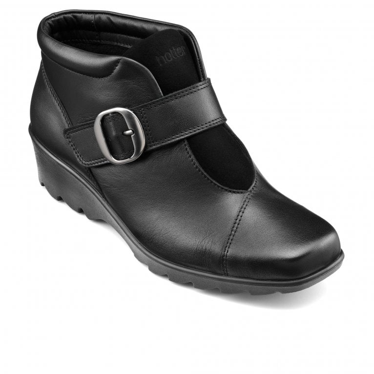 Hotter Tamara Womens Wide Fit Ankle Boots