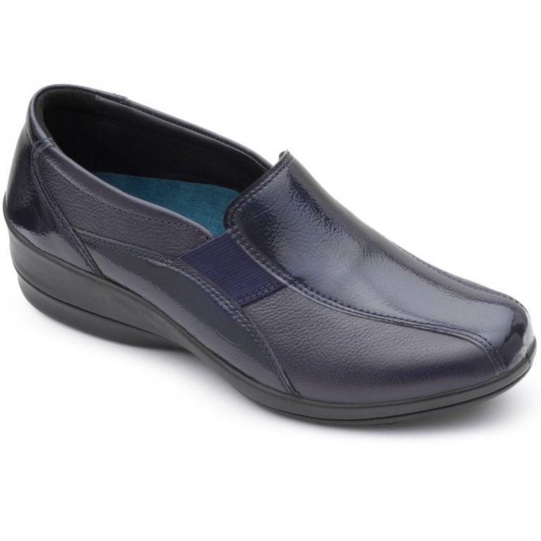 Padders Skye 2 Womens Leather Wedge Shoe