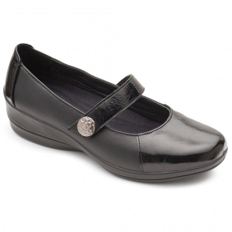 Padders Past Womens Wedge Shoe