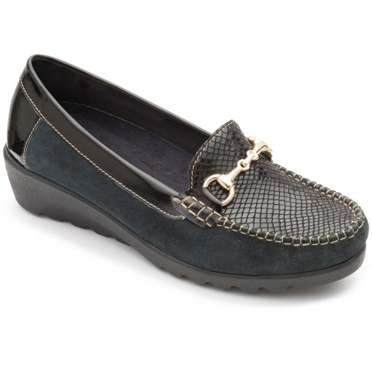 Padders Georgina Womens Leather Moccasins