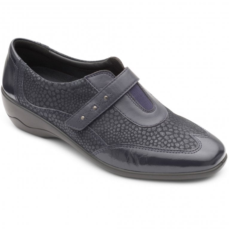 Padders Topaz Womens Smart Riptape Shoe