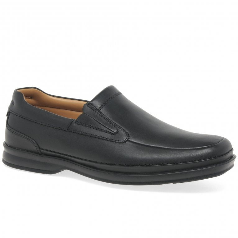 Clarks Scopic Step Mens Wide Fit Formal Shoes