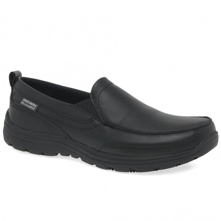 Skechers Hobbes Relaxed Fit Mens Shoes