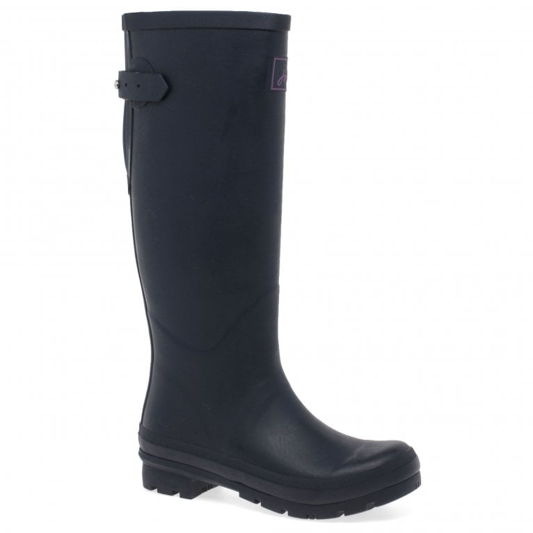 Joules Womens Field French Navy Tall Wellington Boots