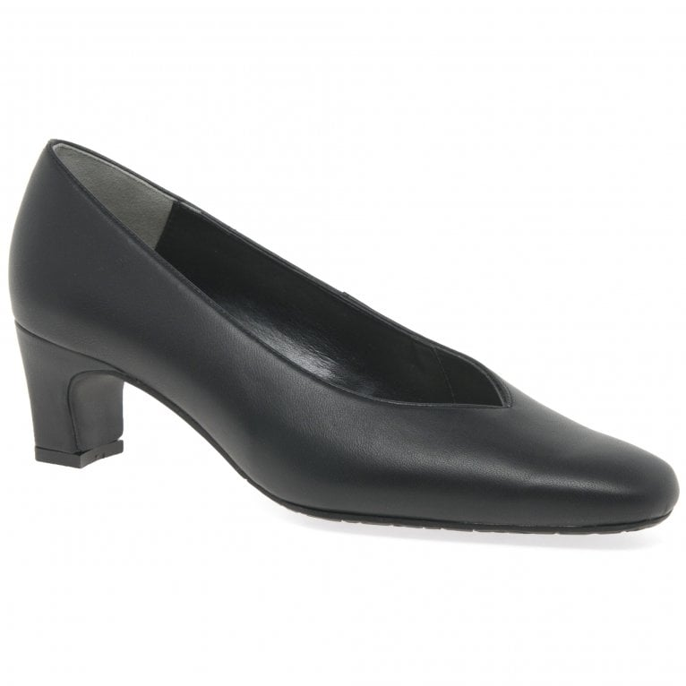 Van Dal Carrie II Wide Fitting Court Shoes
