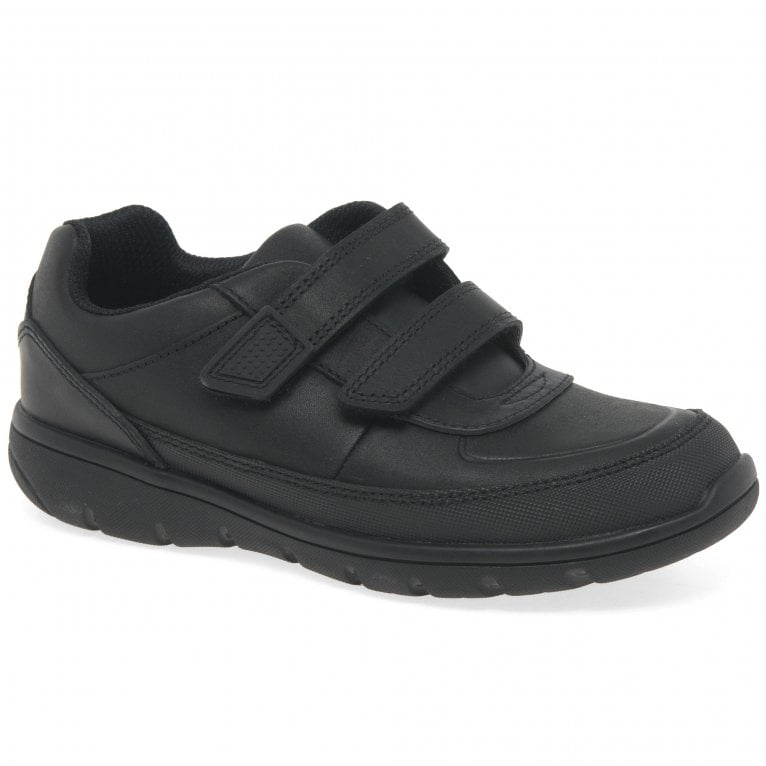 Clarks Venture Walk Boys Infant Rip Tape Trainer Style School Shoes