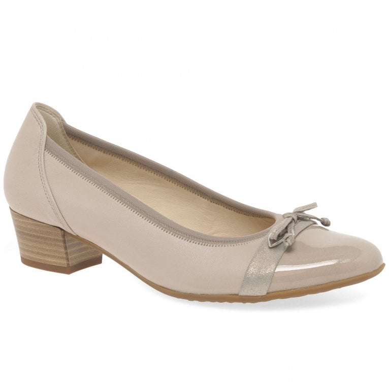 Gabor Hayley Womens Bow Court Shoes