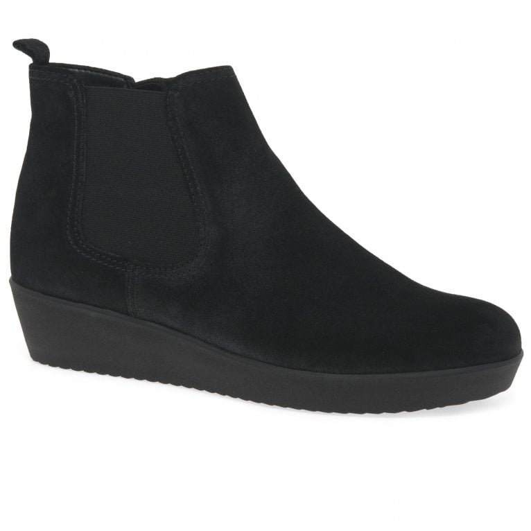 Gabor Ghost Womens Wedged Ankle Boots