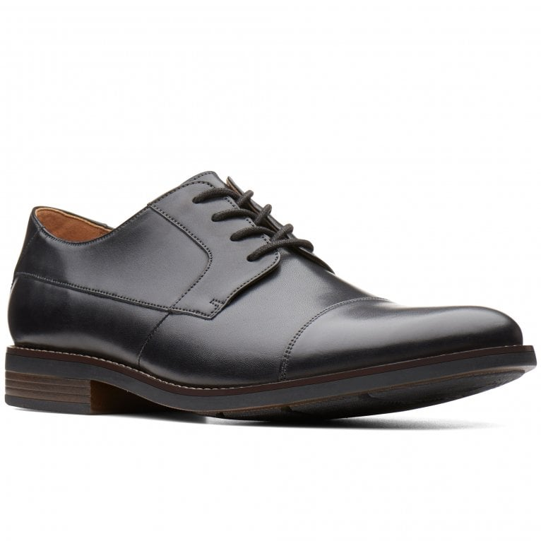 Clarks Becken Cap Mens Formal Lace Up Shoes