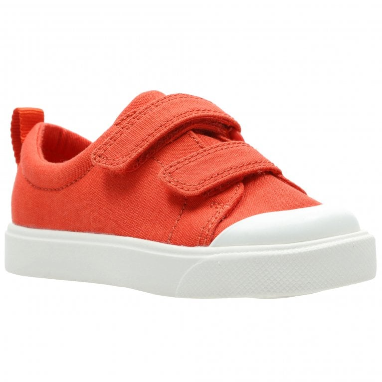 Clarks City FlareLo T Infant Canvas Shoes