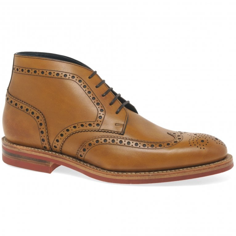 Loake Reading Mens Brogue Derby Boots
