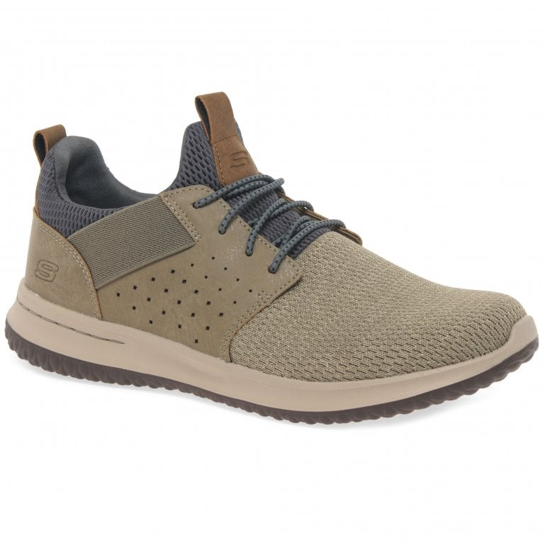 Skechers Delson Camben Mens Casual Sports Trainers