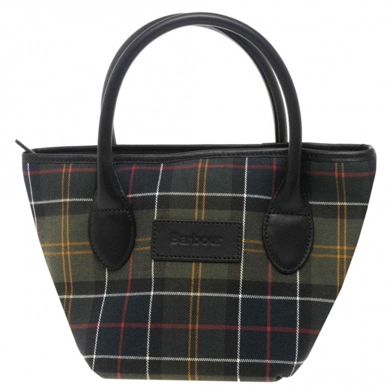 Barbour Tartan Tote Womens Handbag