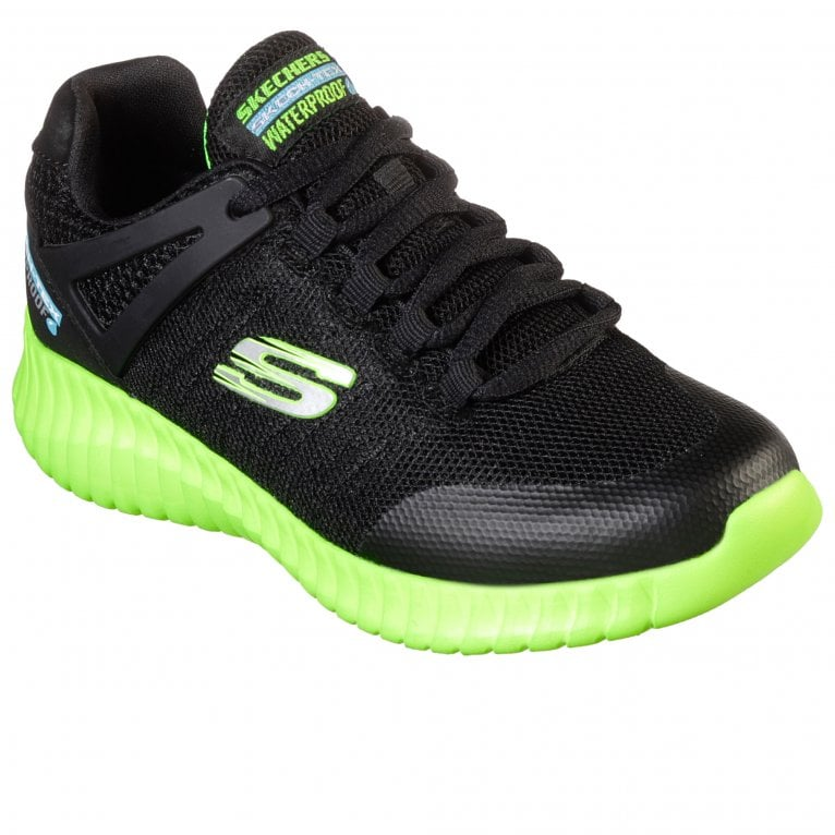 Skechers Elite Flex Lace Boys Senior Sports Trainers