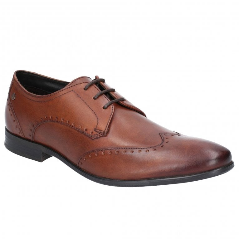 Base London Buckingham Washed Mens Formal Brogues
