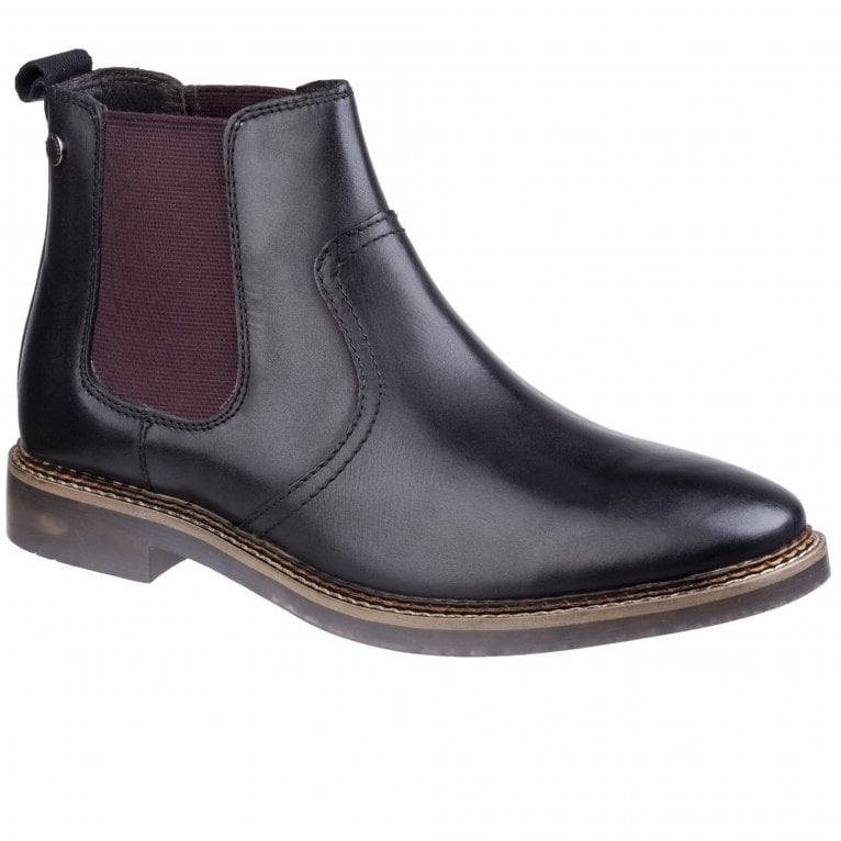 Base London Piper Waxy Mens Chelsea Boots