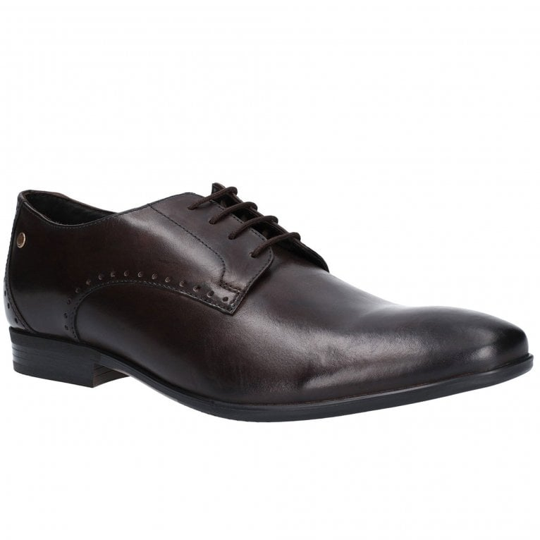 Base London Westbury Washed Mens Derby Shoes