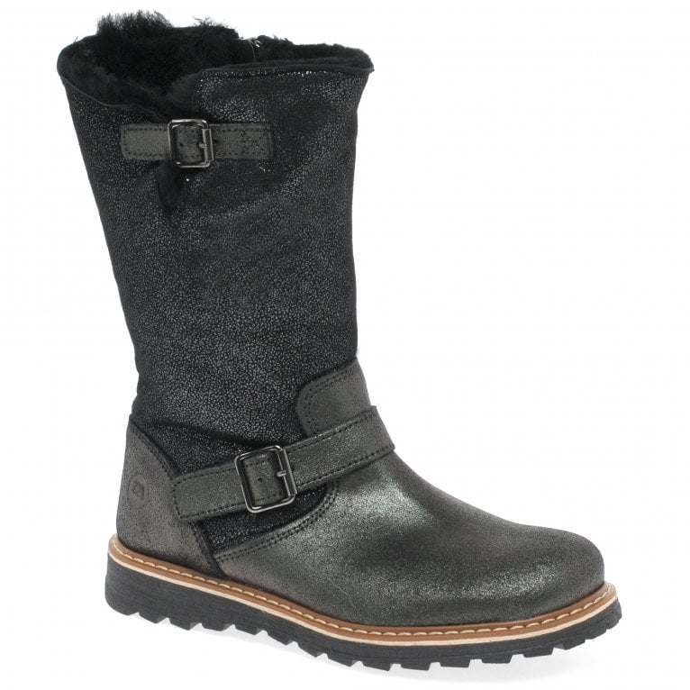Kids at Clinks Ava Girls Tall Biker Boots