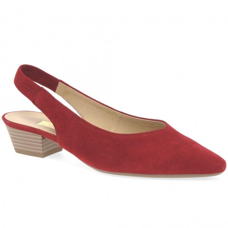 Gabor Heathcliff Womens Slingback Court Shoes
