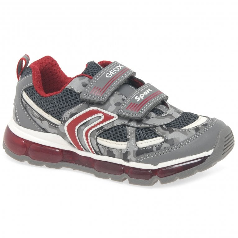Geox Junior Android Boys Double Riptape Sports Trainers