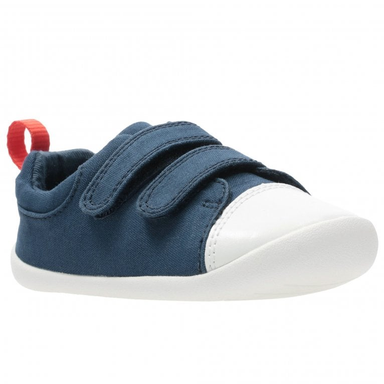 Clarks Roamer Craft T Boys Infant Canvas Shoes