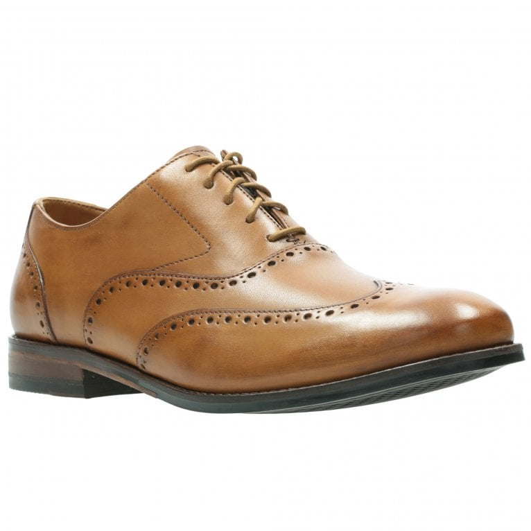 Clarks Edward Walk Mens Formal Lace Up Shoes