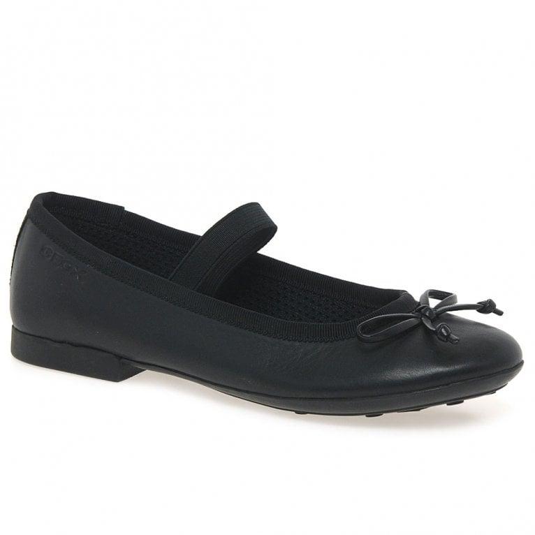 Geox Plie Junior Girls School Shoes