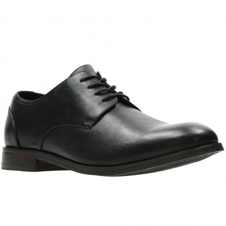 Clarks Flow Plain Mens Formal Lace Up Shoes