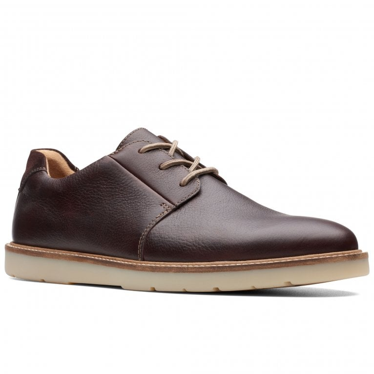 Clarks Grandin Plain Mens Casual Lace Up Shoes