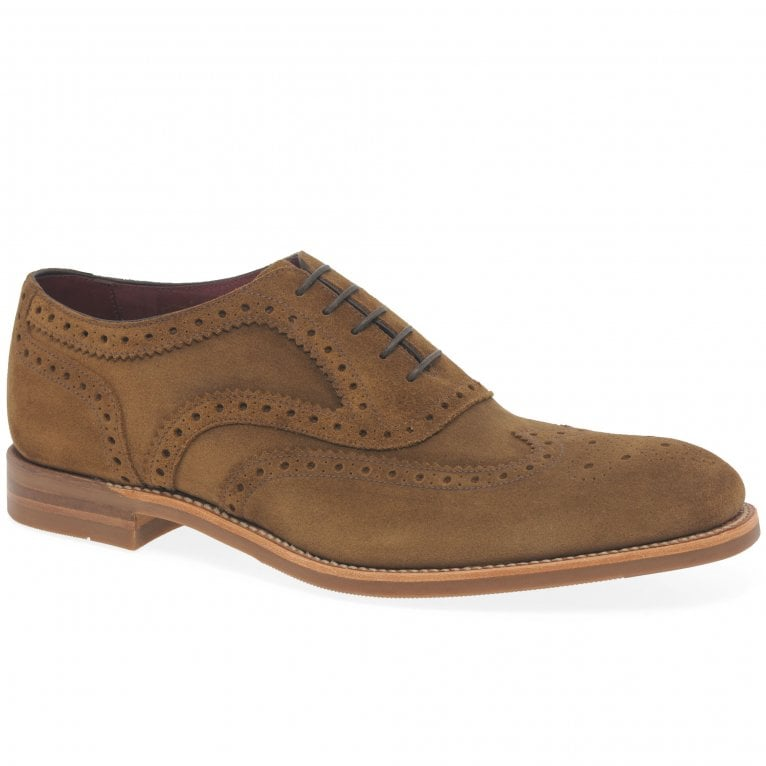 Loake Kerridge Mens Oxford Wing Tip Brogues