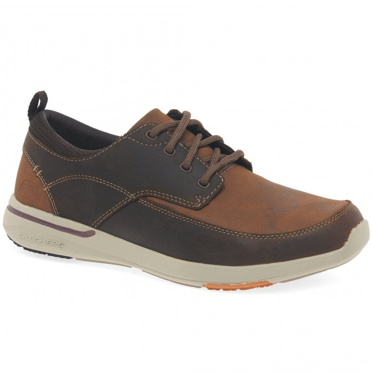 Skechers Elent Leven Lace Up Mens Shoes
