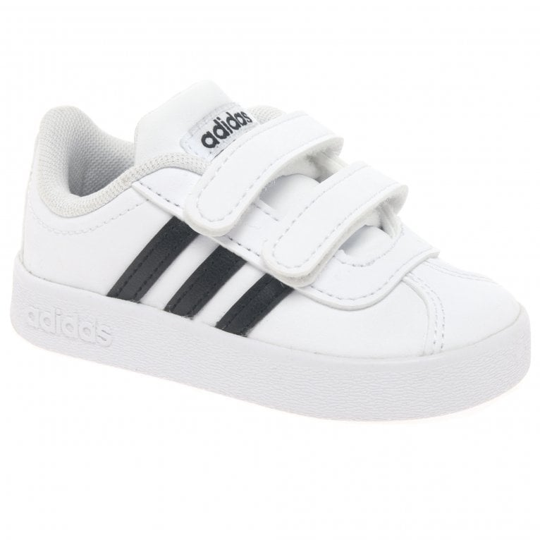 Adidas VL Court Kids Toddler Riptape Sports Trainers