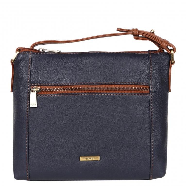 Nova Leathers Bessie Womens Messenger Handbag