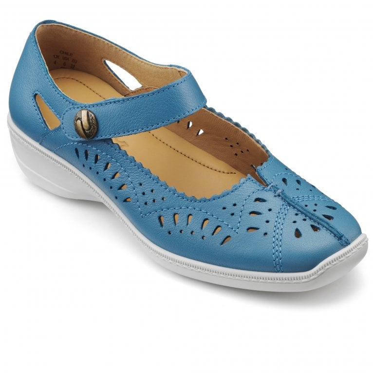 Hotter Chile Womens Extra Wide Fitting Mary Jane Shoes