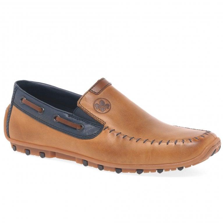 Rieker Venton Mens Slip On Driving Shoes