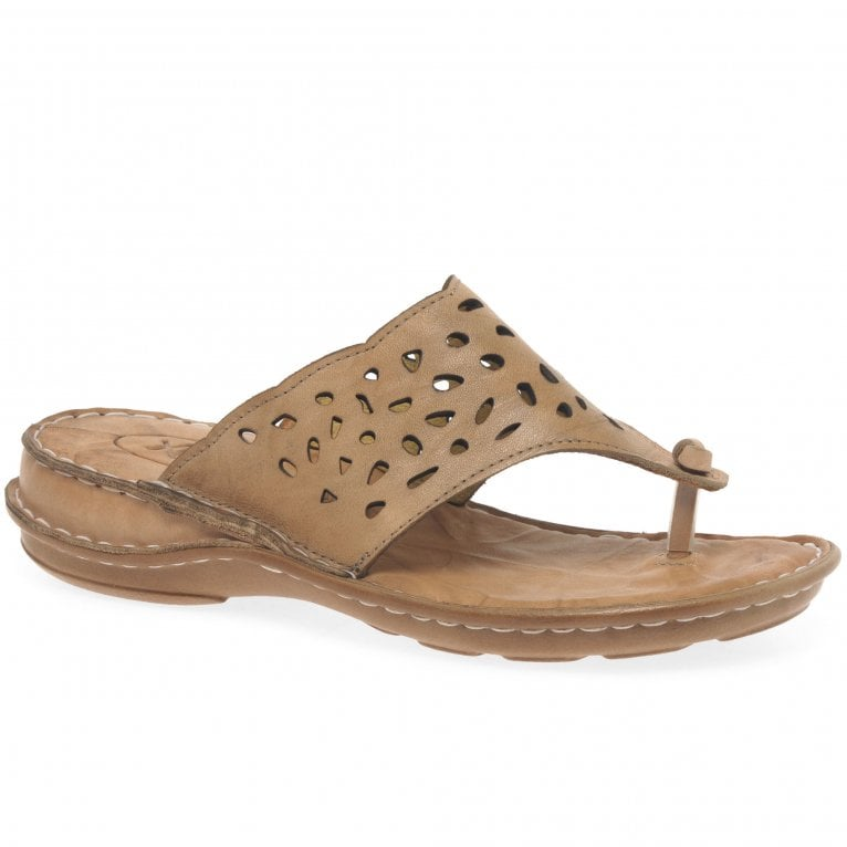 Extrafit Knot Womens Toe Post Sandals