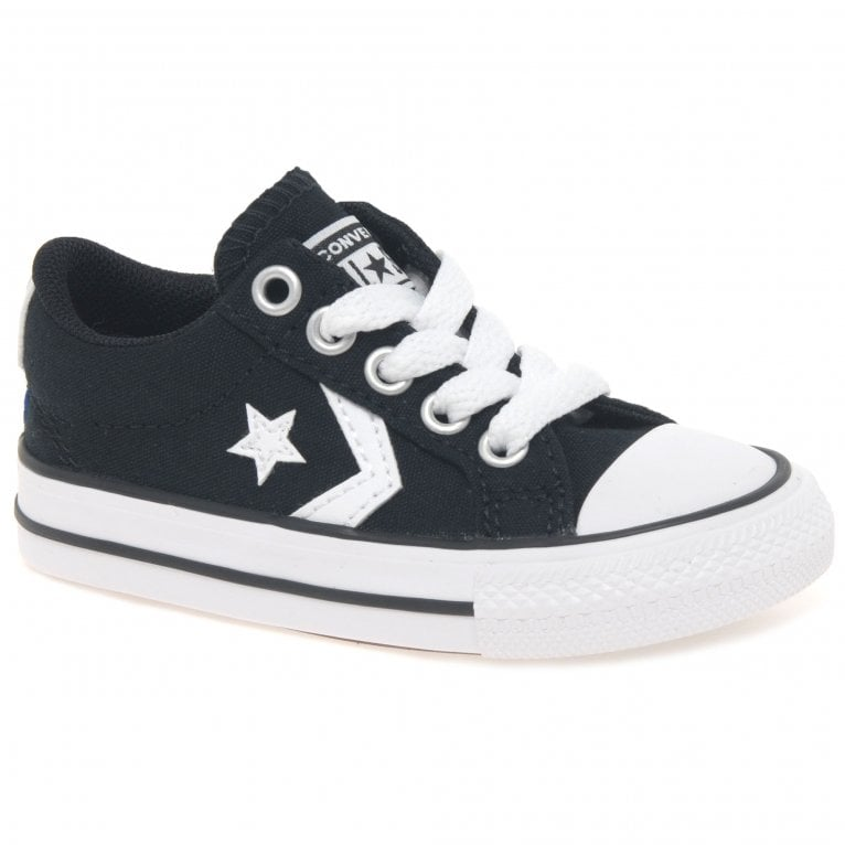 Converse Star Player Lace Kids Infant Canvas Shoes