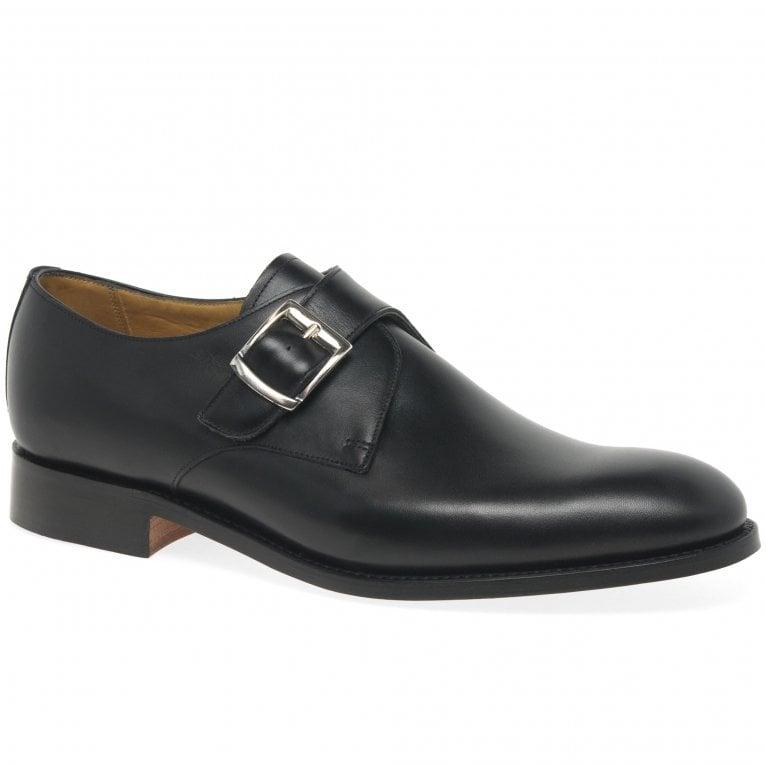 Barker Northcote Mens Single Monk Strap Shoes