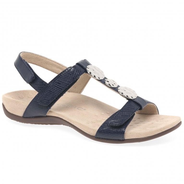 Vionic Farra Womens Patent Casual Sandals