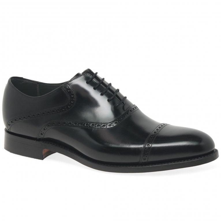 Barker Wilton Mens Formal Toe Cap Oxford Shoes