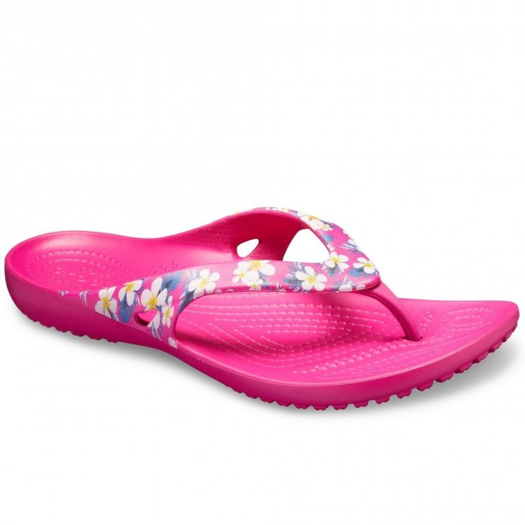 Crocs Kadee II Seasonal Flip Womens Toe Post Sandals