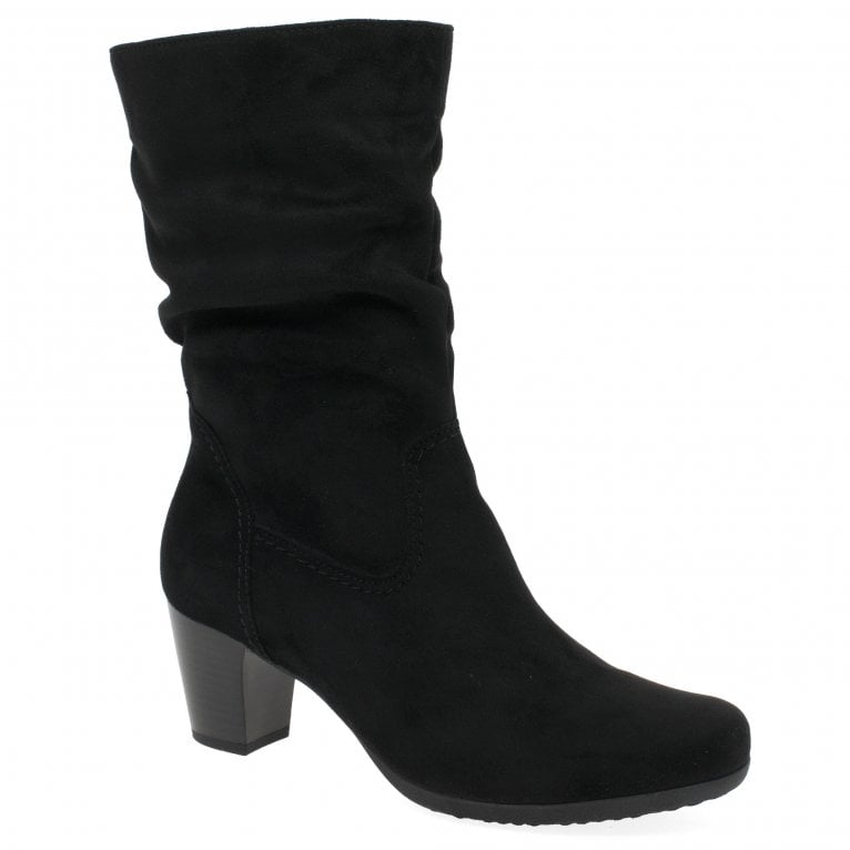 Gabor Adele Womens Micro Suede Calf Length Boots