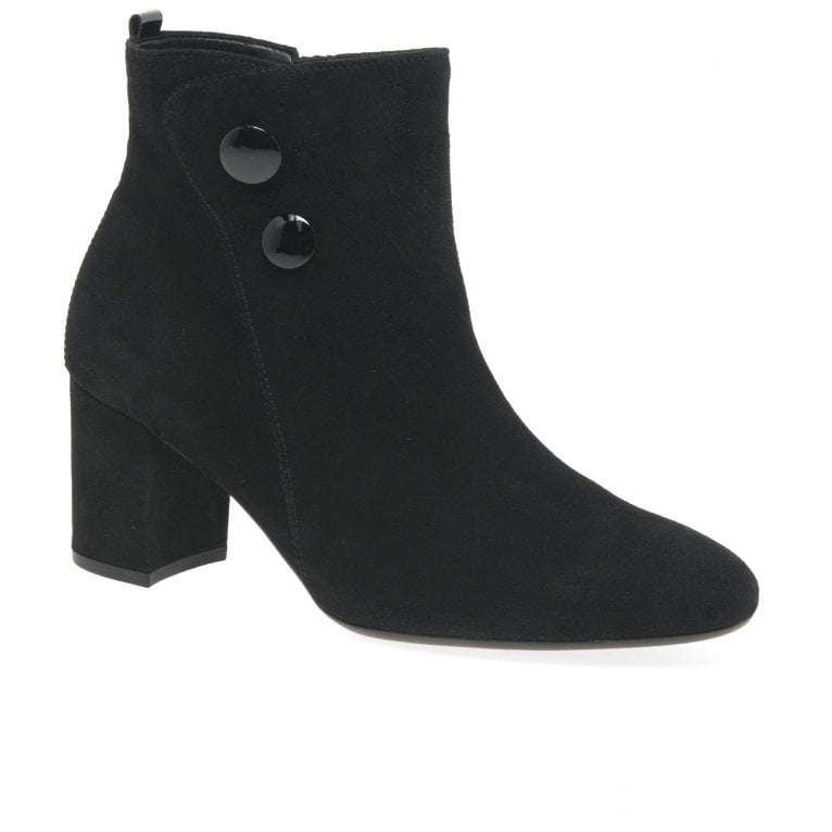 Gabor Venue Womens Suede Ankle Boots