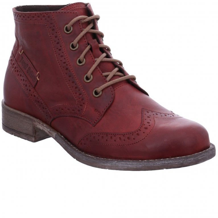 Josef Seibel Sienna 74 Womens Brogue Ankle Boots