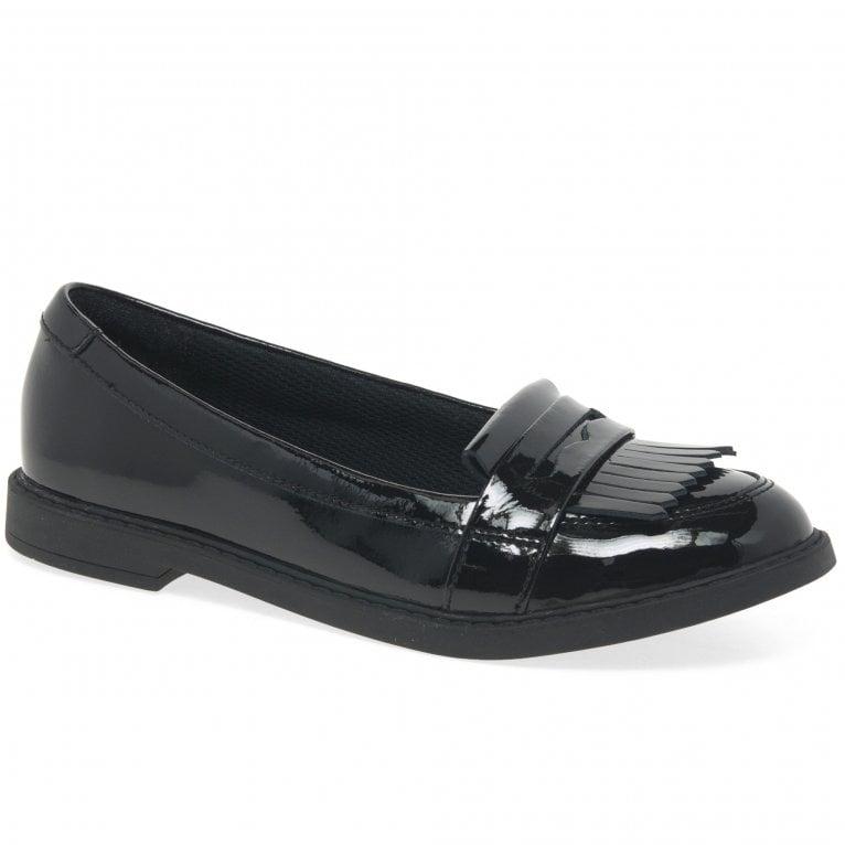 Clarks Scala Bright Girls School Shoes