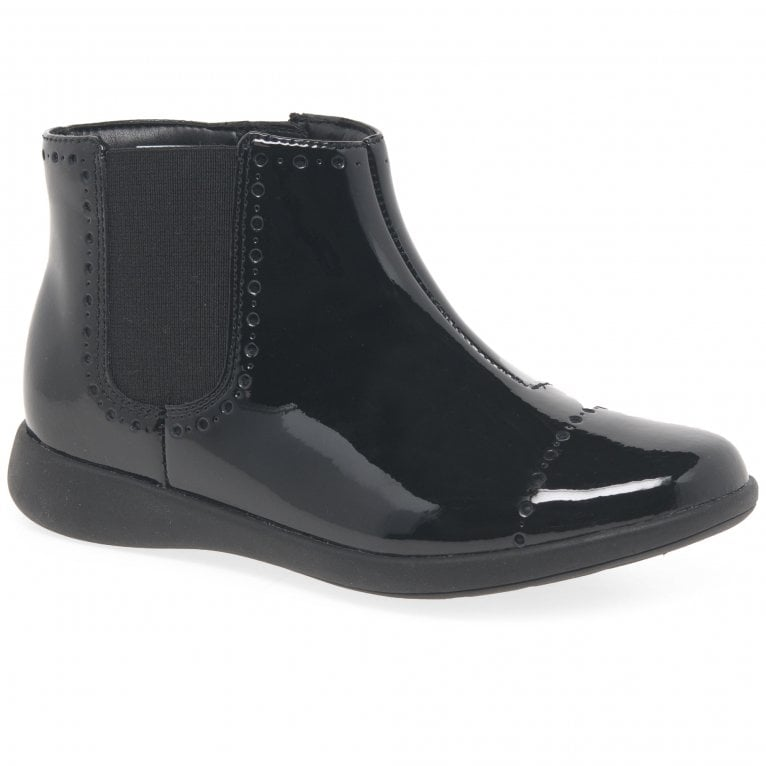 Clarks Etch Form Girls Boots